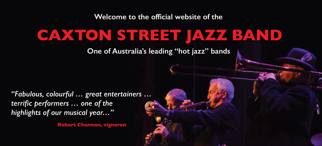 Caxton Street Jazz Band in action